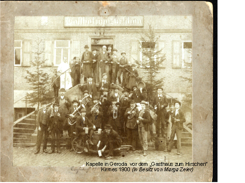 Kirmes 1900