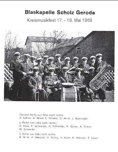 Kreismusikfest 1969